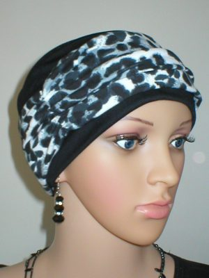 chemo hat and headband